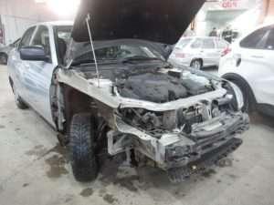Автомобиль до ремонта после ДТП